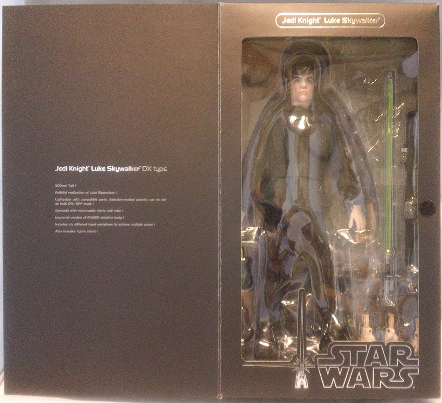 Amazon Com Real Action Heroes Star Wars Jedi Knight Luke Skywalker 12 Action Figure Toys Games