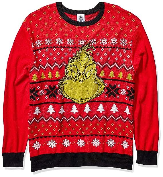 Dr. Seuss Men\u0027s Ugly Christmas Sweater