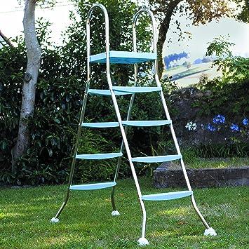 Gre AR11680 - Escalera para Piscina Elevada, 142 cm: Amazon.es: Jardín