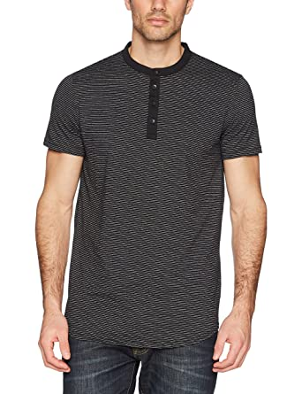 3154ce6591a6 Calvin Klein Men's Short Sleeve Stripe Henley Arid Warms at Amazon Men's  Clothing store: