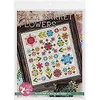 It's Sew Emma Flea Market Flowers Cross Stitch Pattern, None