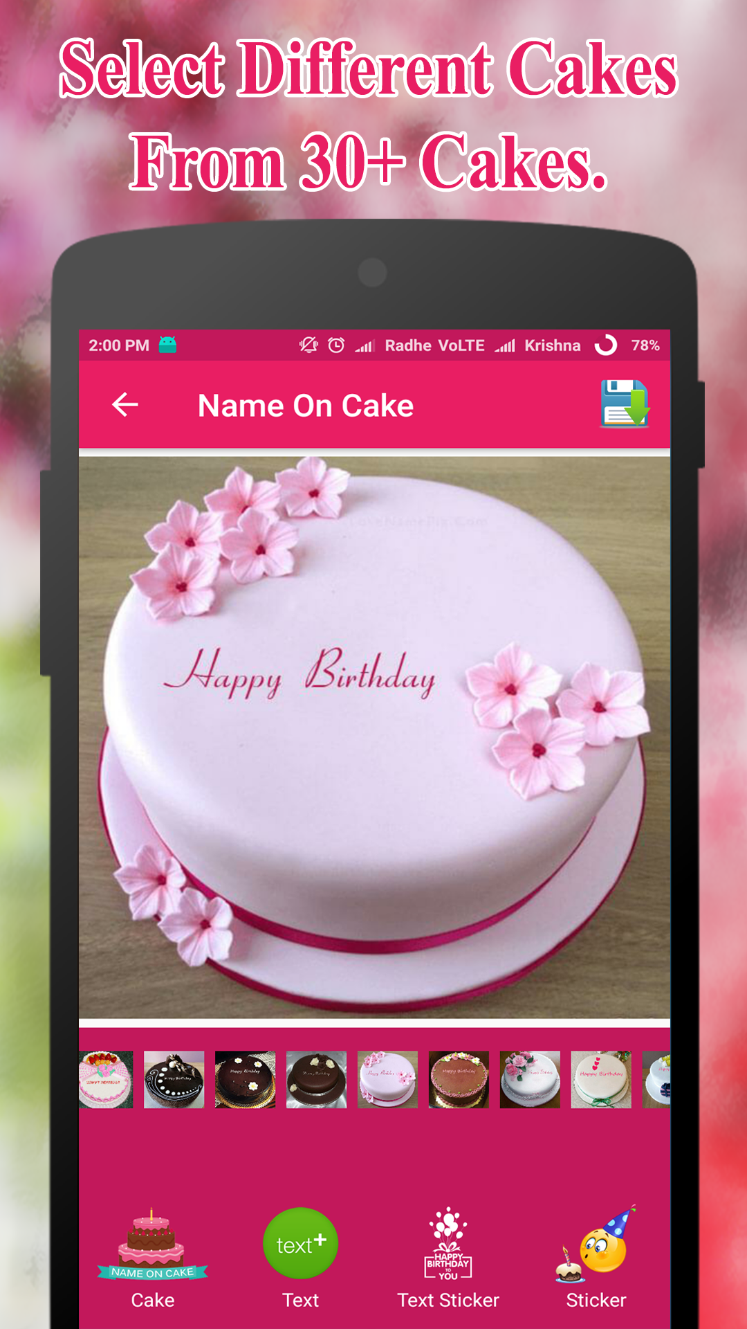 Amazon Name On Birthday Cake Offline Appstore For Android