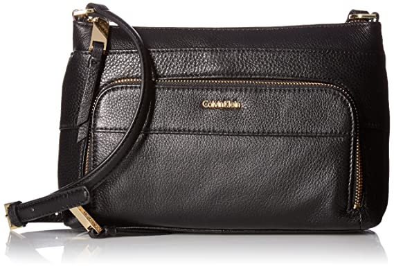 7348ae12e77e5 Image Unavailable. Image not available for. Colour  Calvin Klein Key Item  Pebble Multi Entry Crossbody
