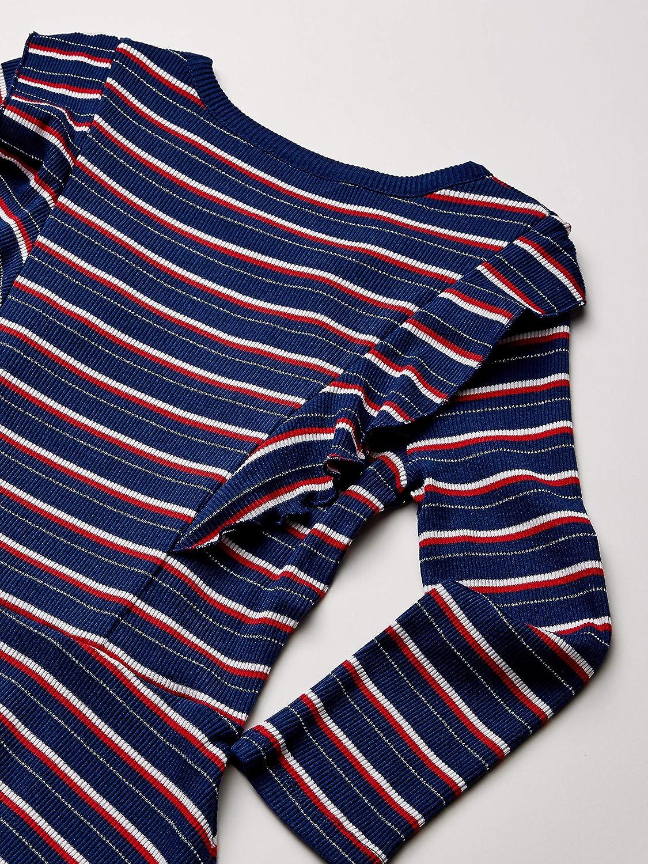 Tommy Hilfiger Girls Crew Neck A-line Dress Dress