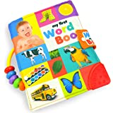 MAMMA Kiddie Soft Activity Book, My First Word Book, Best Cloth Book, Baby Encyclopedia, Holds up in The wash