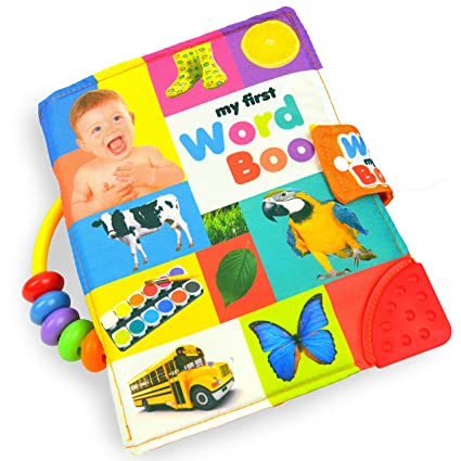 Amazon Com Totmart Baby Soft Activity Book My First Word Book