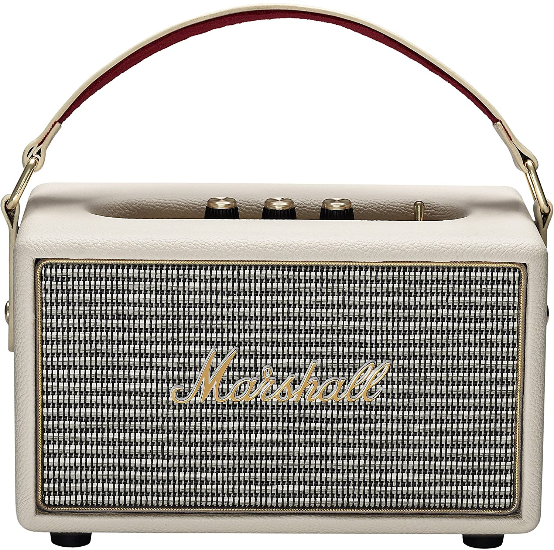 Marshall Kilburn - Altavoz portátil (100 dB, 25 W, Bluetooth), color crema