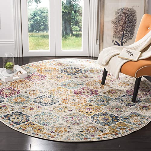 Safavieh Madison Collection MAD611B Bohemian Chic Vintage Distressed Area Rug