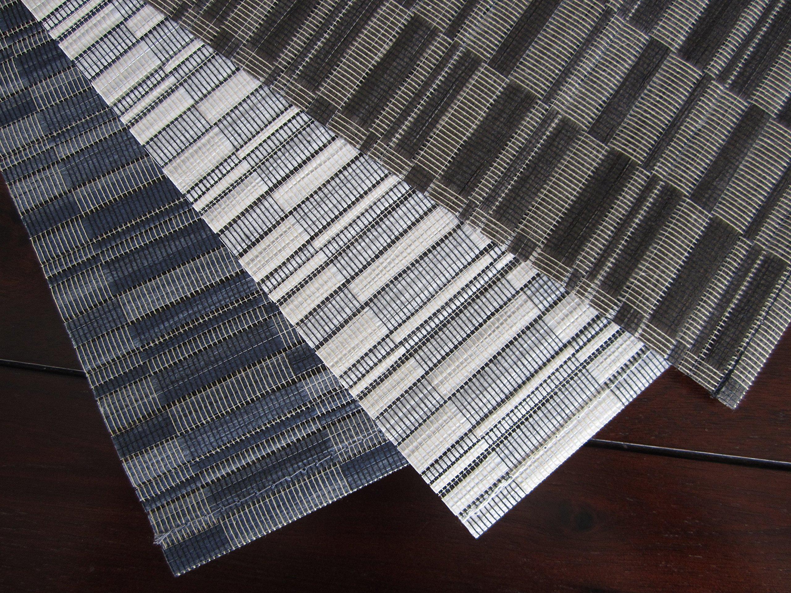 Linen Avenue Cotton Wood (8) Placemats Parchment 50% OFF