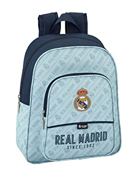 Safta Mochila Escolar Infantil Animada Real Madrid Corporativa Oficial 270x100x330mm: Amazon.es: Equipaje