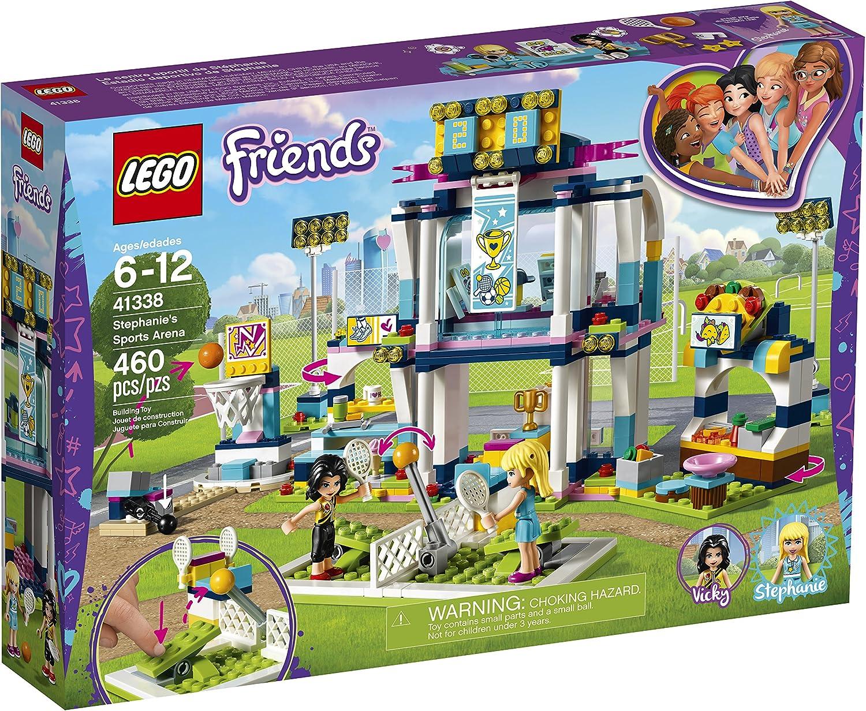 Amazon.com: LEGO Friends 41338 Stephanies Sports Arena ...