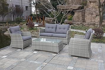 Exkluse Sitzgruppe Speisegruppe für die Terrasse oder den Garten ...