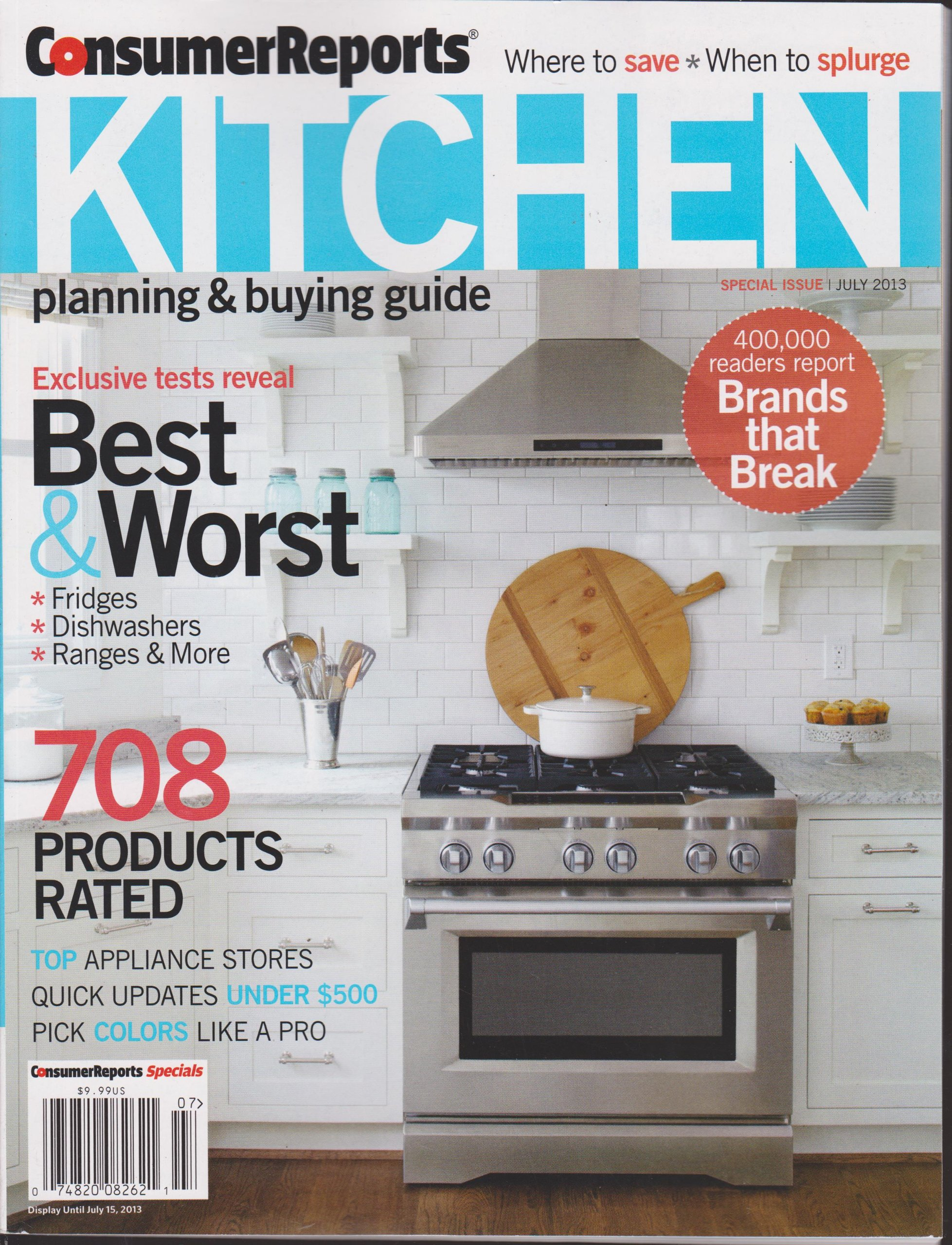 Consumer Reports Kitchen Planning & Buying Guide Magazine ...