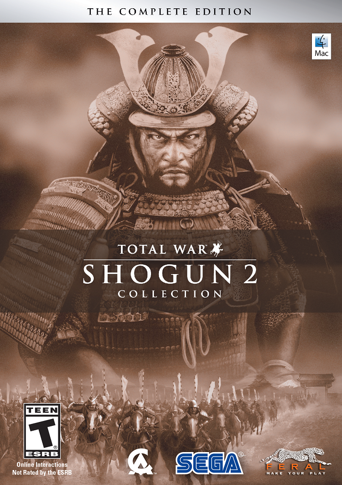 Total War: SHOGUN 2 Collection (Mac) [Online Game Code] (Shogun 2 Collection)