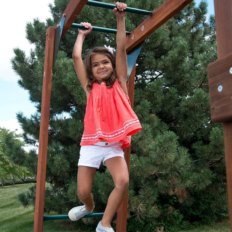 amazon com swing n slide chesapeake wood complete play set with