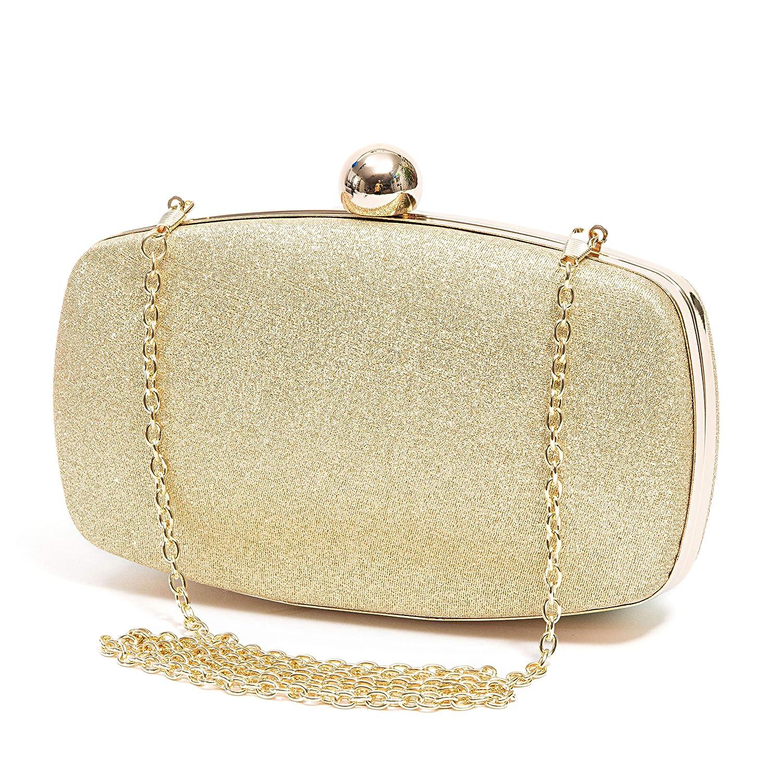 Glitter Fabric Clutch Bag DAWN