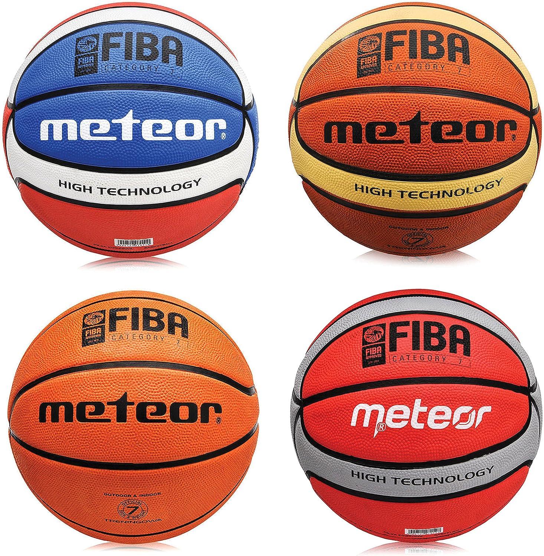 meteor Pelota de baloncesto celular Fiba, tamaño # 7 Color Marrón ...
