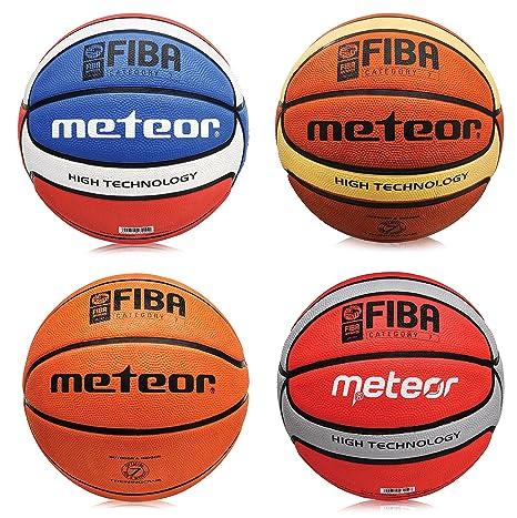 meteor Pelota de baloncesto celular Fiba, tamaño # 7 Color ...