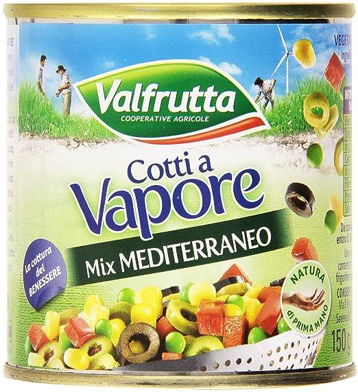 9 opinioni per Valfrutta- Mix Mediterraneo, Vegetali Misti Sottovuoto- 4 confezioni da 3 pezzi