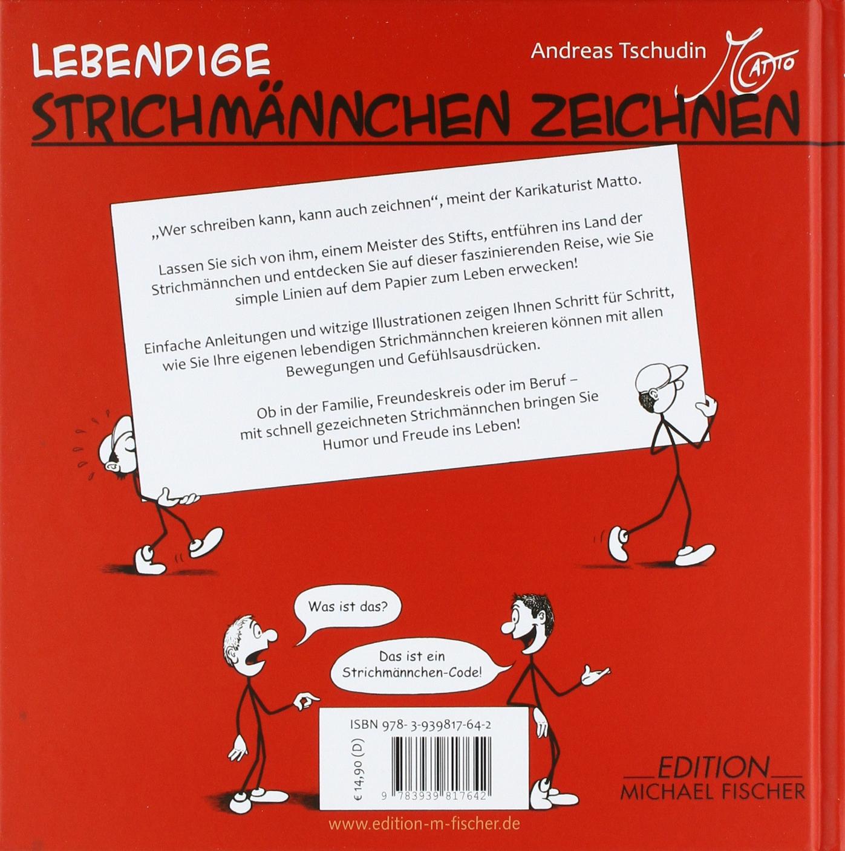 Lebendige Strichmännchen zeichnen: Vorlagen und Anleitungen: Amazon ...