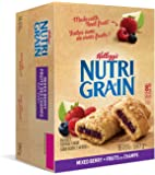 Kellogg's Nutri-Grain Mixed Berry Flavour 16 bars, 590g/20.81 Ounce box {Imported from Canada}