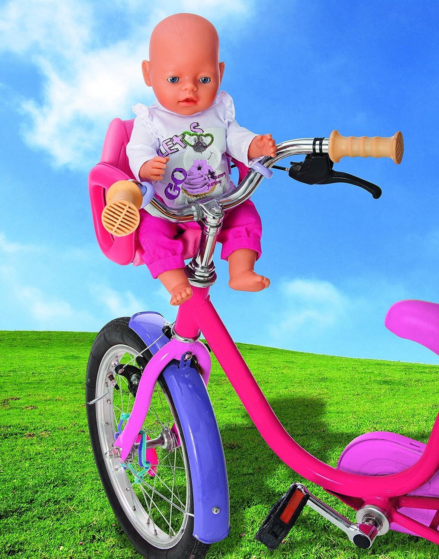 Zapf Creation 804612 Baby Born - Silla de Bicicleta para muñeco ...