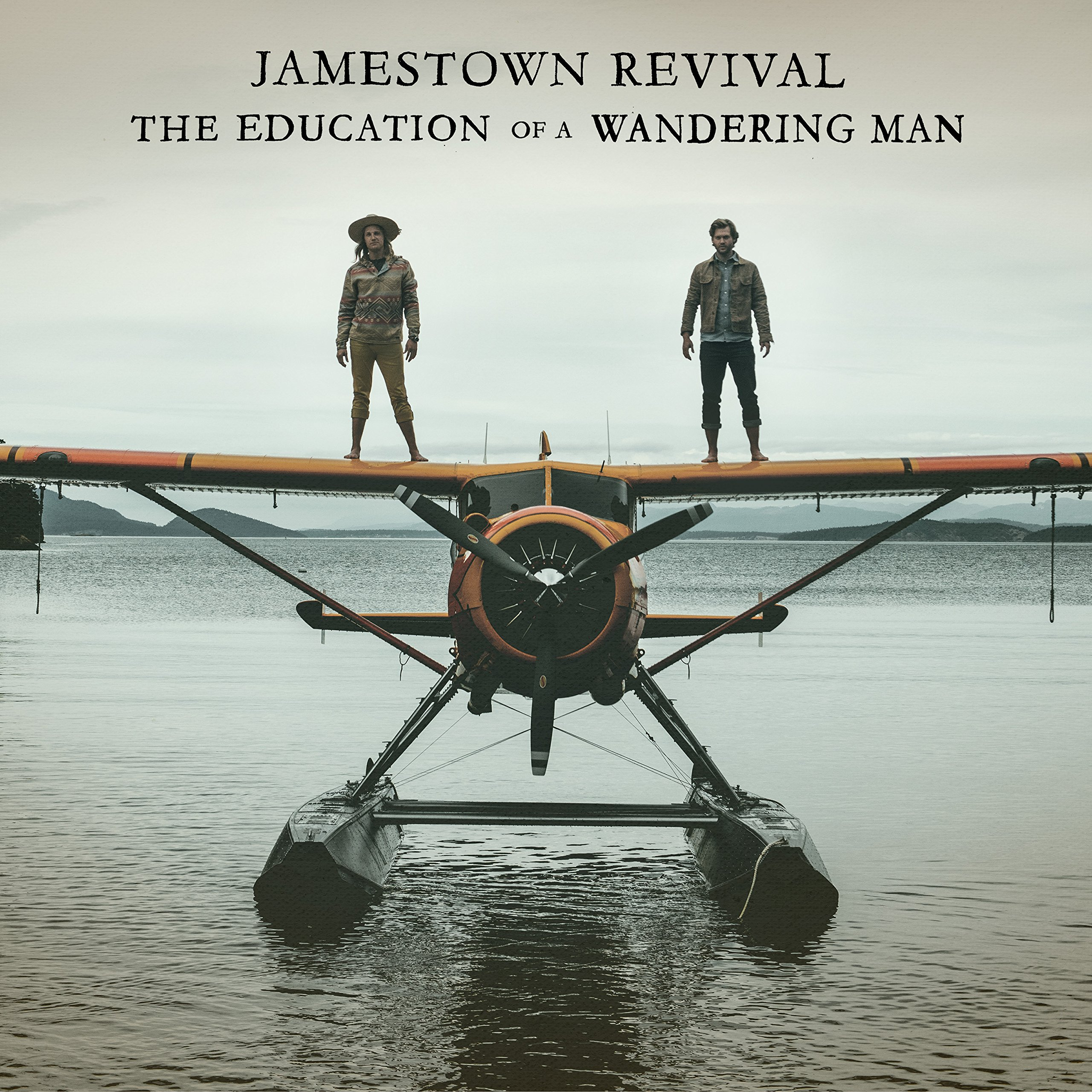 CD : Jamestown Revival - The Education Of A Wandering Man