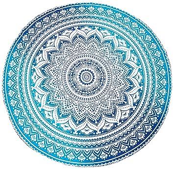 Amazon Com Popular Handicrafts Popular Round Roundie Indian Mandala
