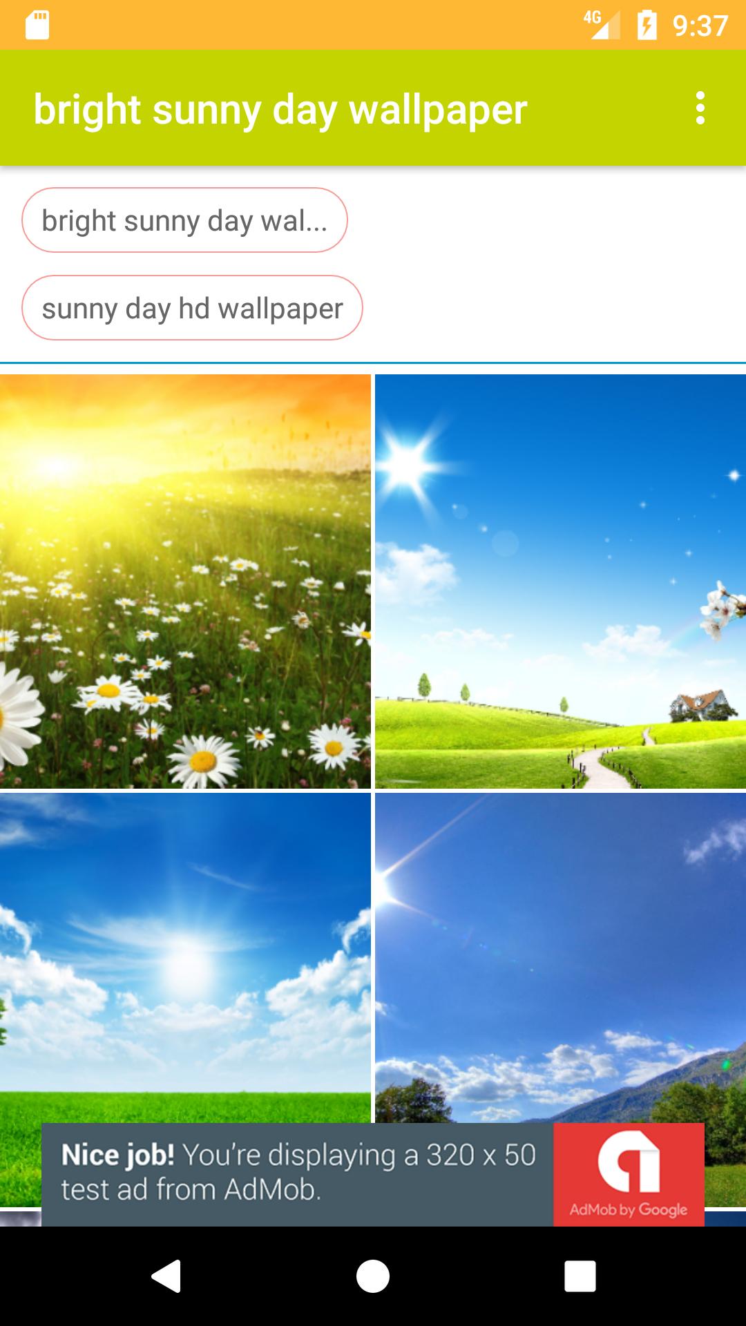 Beautiful Sunny Day Hd Free Wallpaper Amazones Appstore