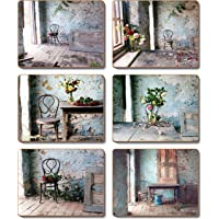 Cinnamon Blue Room Coasters