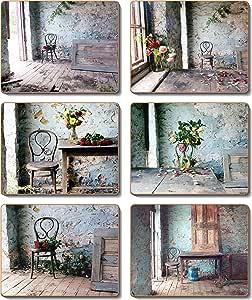 Cinnamon Blue Room Coasters