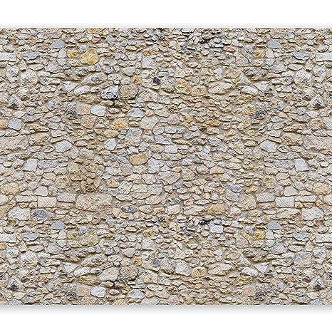 murando - Fototapete Steinoptik 400x280 cm - Vlies Tapete - Moderne Wanddeko - Design Tapete - Wandtapete - Wand Dekoration -
