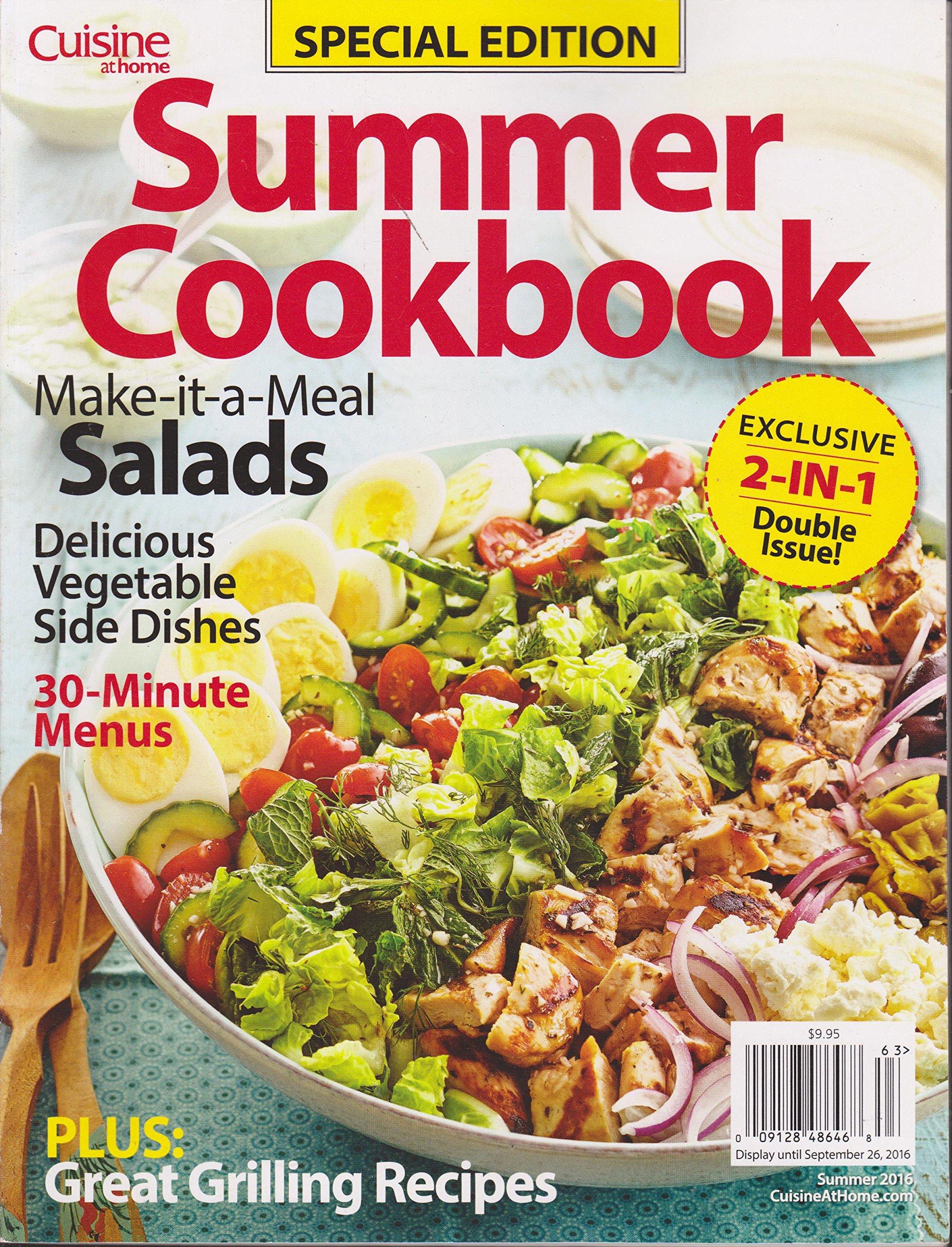 Download Cuisine at Home Summer Cookbook Magazine Summer 2016 PDF
