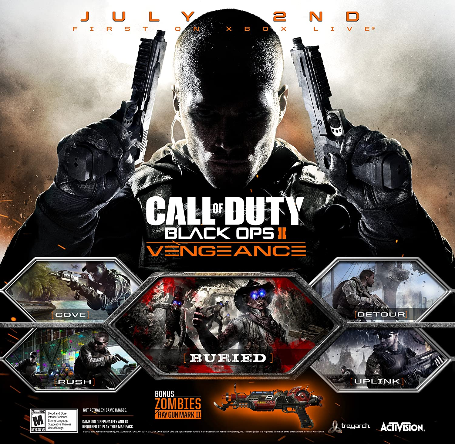 Amazon com: Call of Duty: Black Ops II Vengeance [Online Game Code