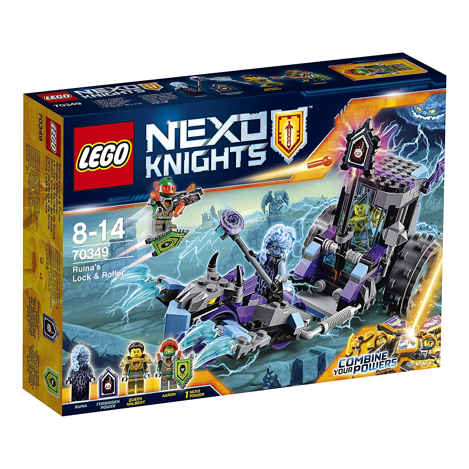 Amazon LEGO Nexo Knights Ruina s Lock & Roller Toys & Games