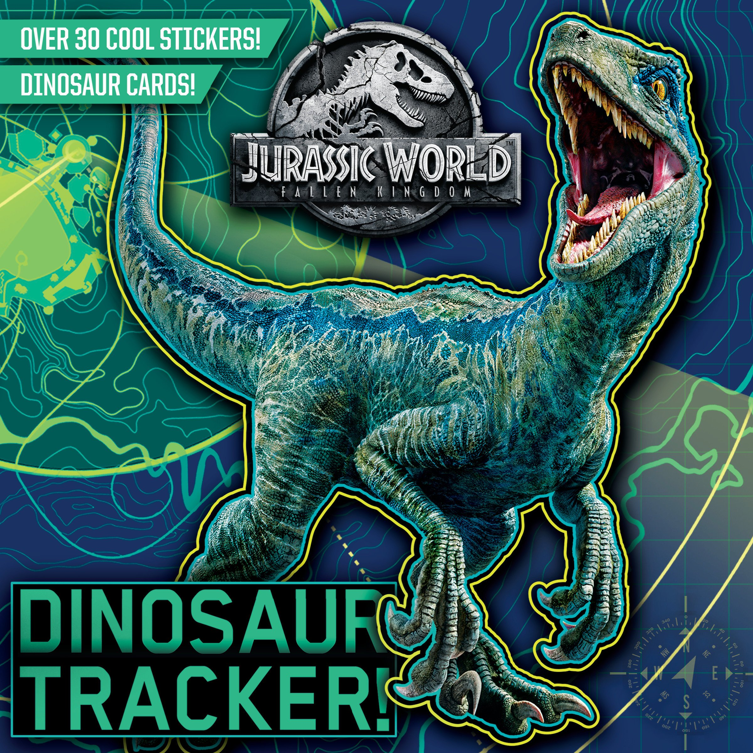 Dinosaur Tracker! (Jurassic World: Fallen Kingdom) (Pictureback(R)): Chlebowski, Rachel, Random House: 9780525580812: Amazon.com: Books