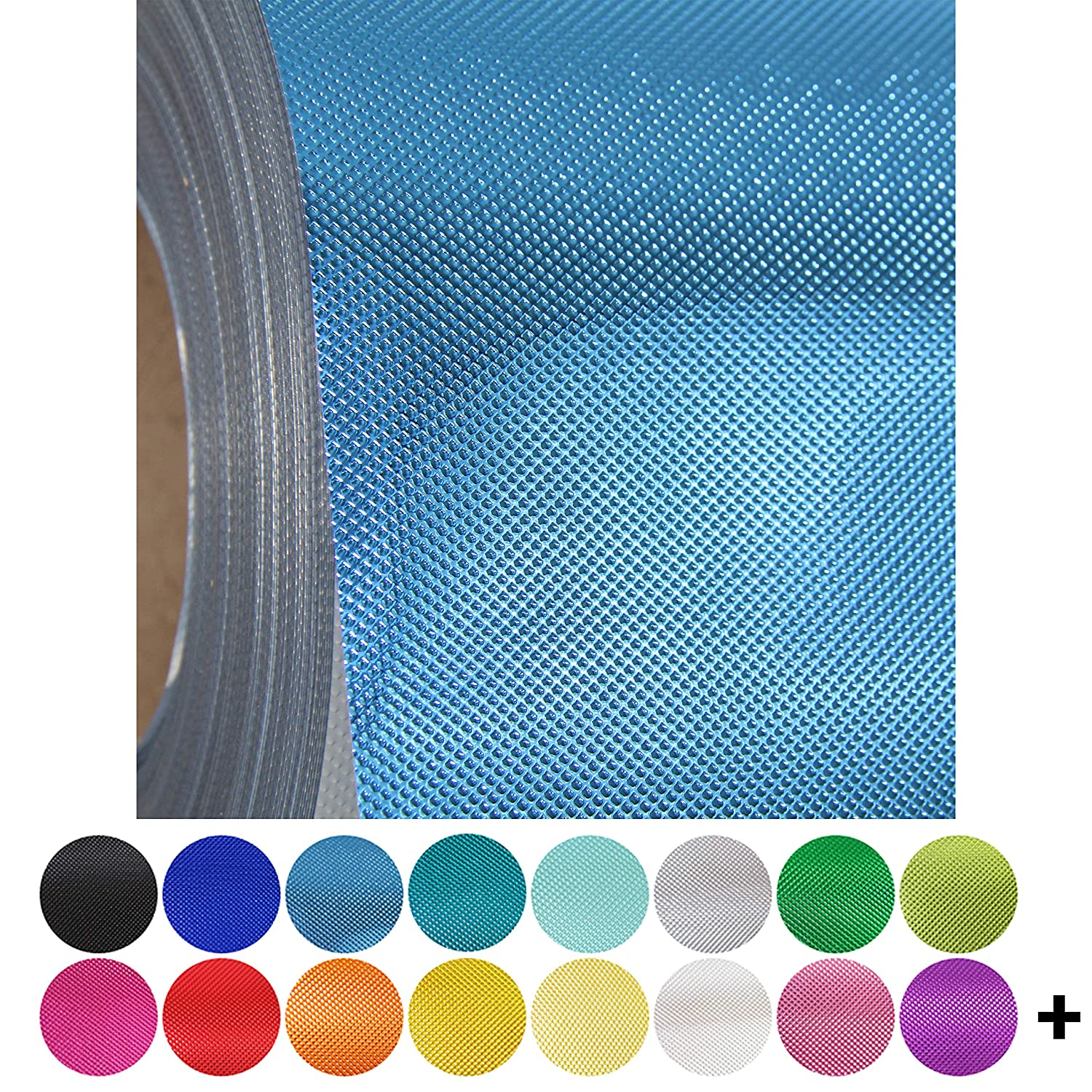 2 15x 20 sheets Metallics Over 130 Colors Threadart Embossed Available in Solids Two Embossed Aqua Metallic Heat Transfer Vinyl Film HTV Neon Glitter Flock Holographic