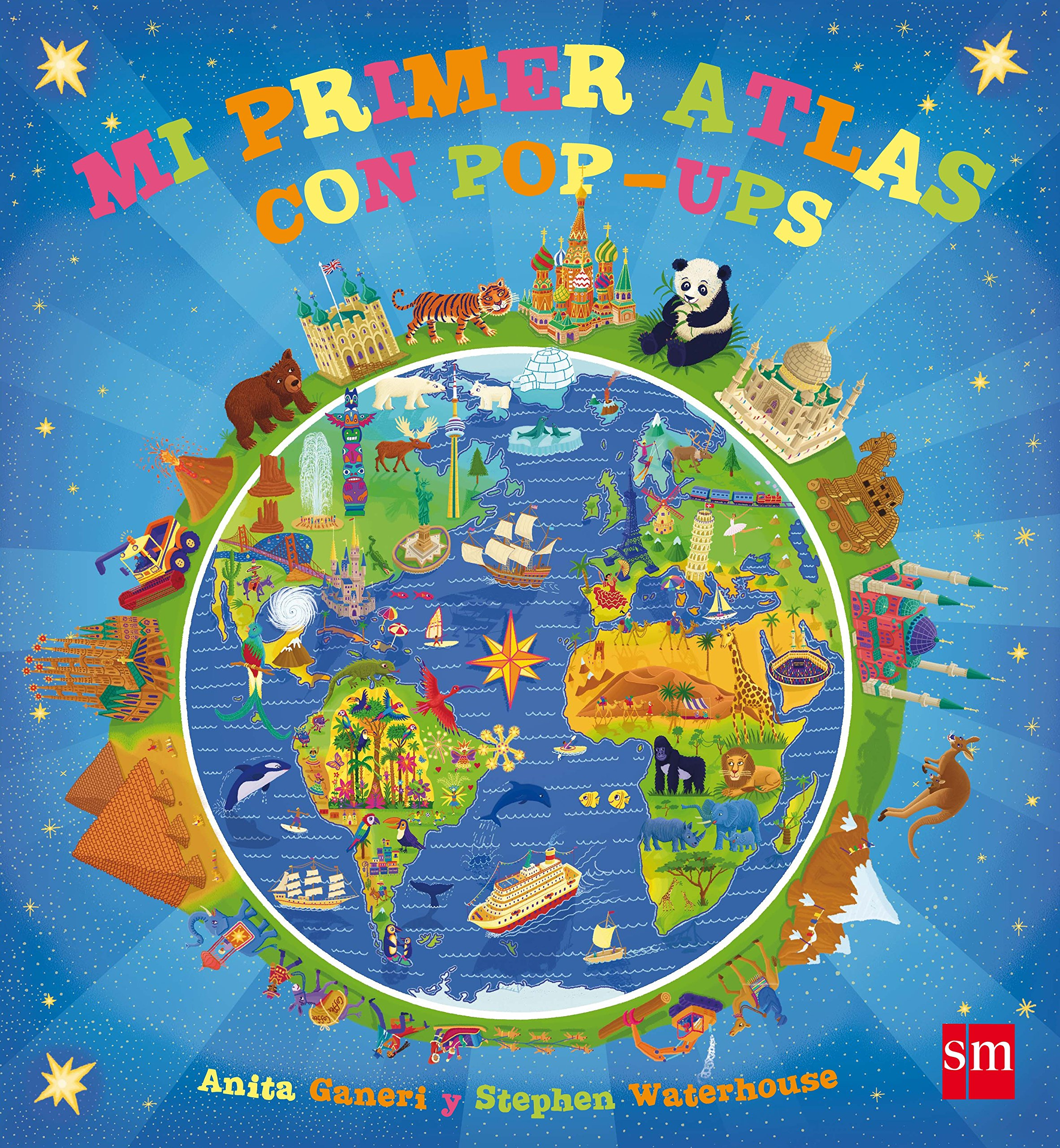 Mi primer atlas con pop-ups: Amazon.es: Anita Ganeri, Stephen Waterhouse,  Teresa Tellechea: Libros