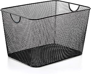 YBM HOME 2268vc Storage Basket, Silver