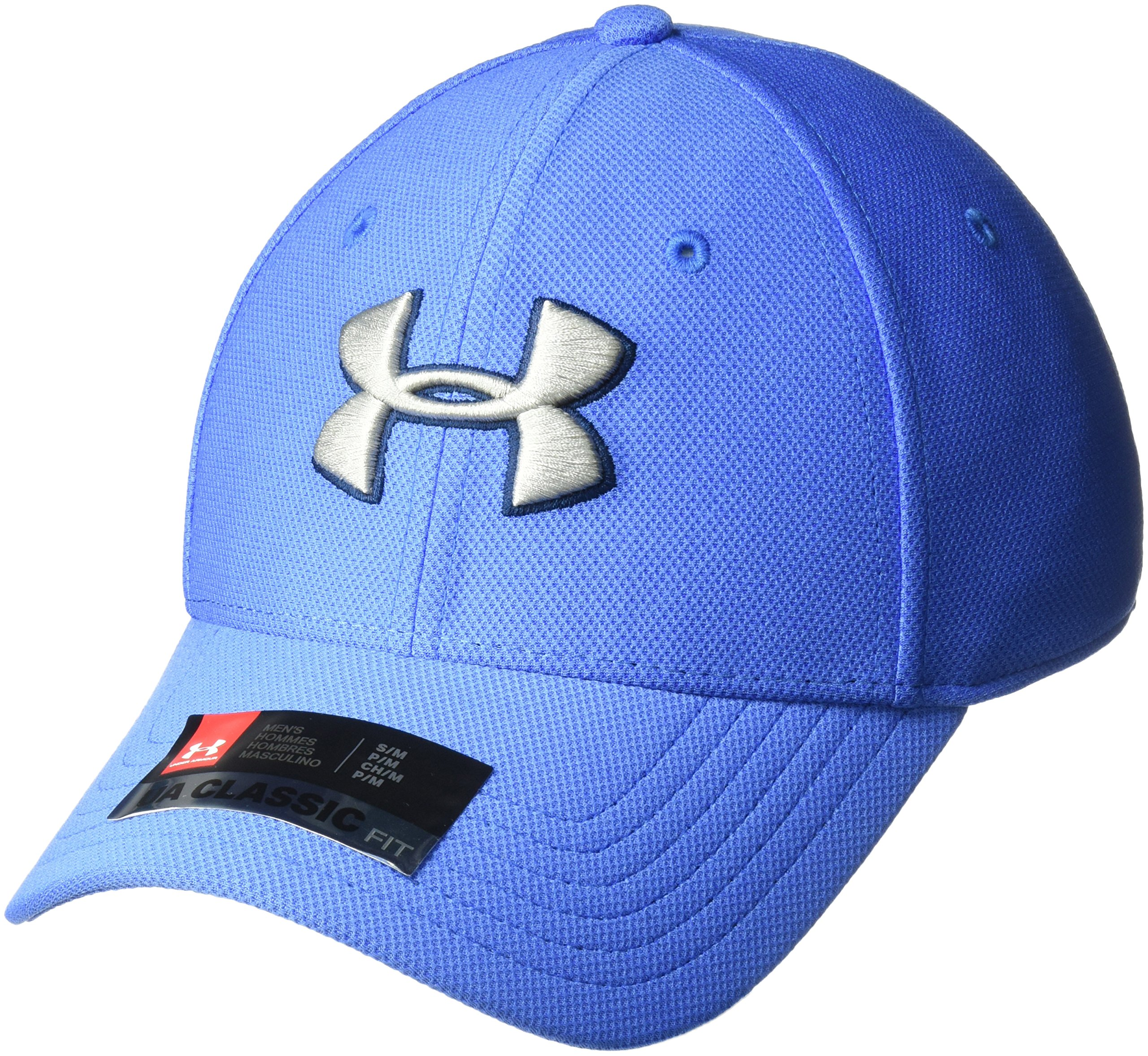 Under Armour Men's Blitzing 3.0 Cap, Mediterranean (437)/Tin, Medium/Large