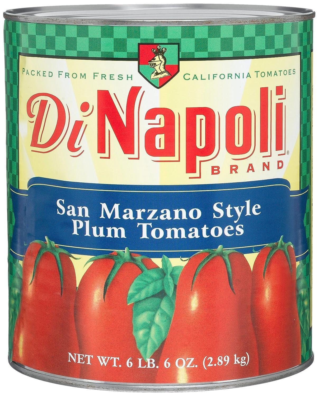 Amazon.com : Di Napoli Italian Style Plum Tomatoes, 102-Ounce Cans ...
