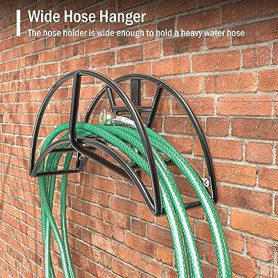 Wall Mount Water Hose Rack Hanger Holder Storage Stand Garden Organizer Tools