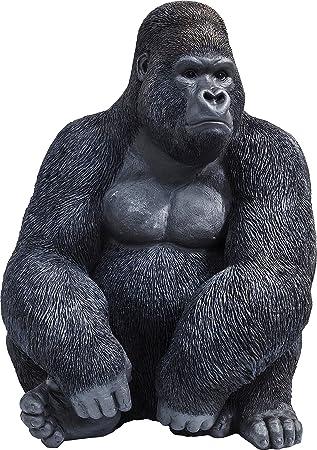 Amazon De Kare Deko Figur Gorilla Side Xl Grosse Dekofigur In Form