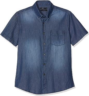 Inside CCMC27 Camisa Vaquera, Azul (Azul 20), X-Large (Tamaño del Fabricante:XL) para Hombre: Amazon.es: Ropa y accesorios