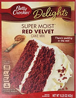 Red velvet cake recipe cake mix with pudding