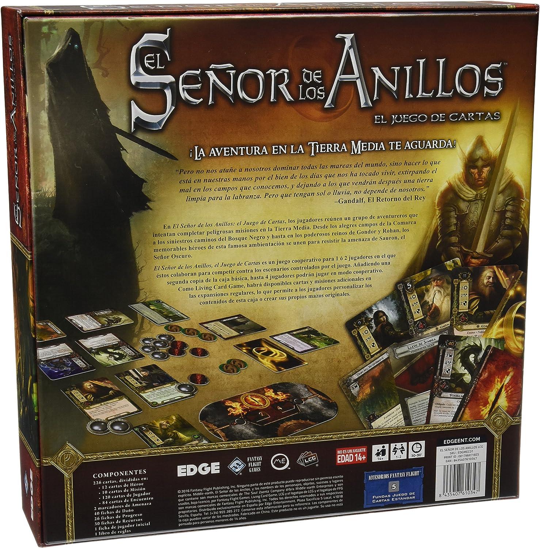 Fantasy Flight Games-El señor de los Anillos, Caja básica (Asmodee ...