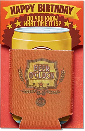 beer hope your day is extra chilled Birthday greetings card /& envelope Son