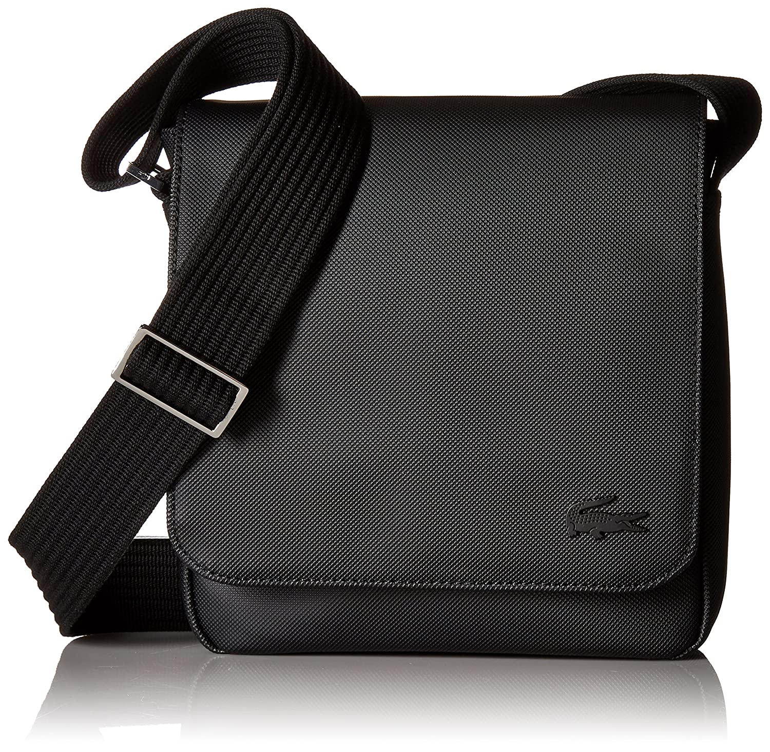 fb702160 Lacoste Men's Flap Crossover Bag