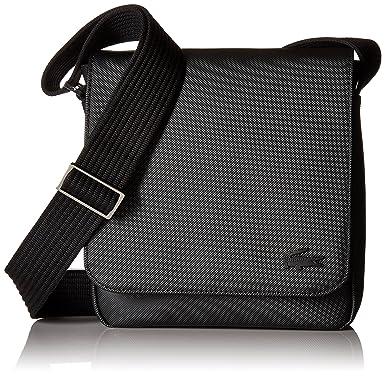 Amazon.com  Lacoste Men s Flap Crossover Bag ddd685e9197f2