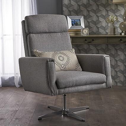 Lovely Hooper Swivel Arm Chair   Perfect For Home Office Or Living Room   Modern  Design  